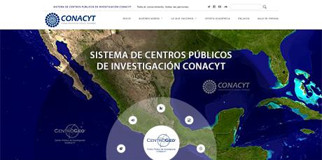 Sistema de Centros Públicos de Investigación CONACYT